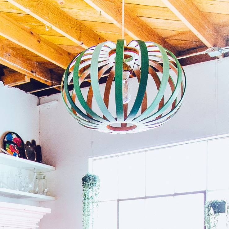 Bohemian Decorating Ideas For Small Studio Inside Bentwood Pendants (#9 of 15)