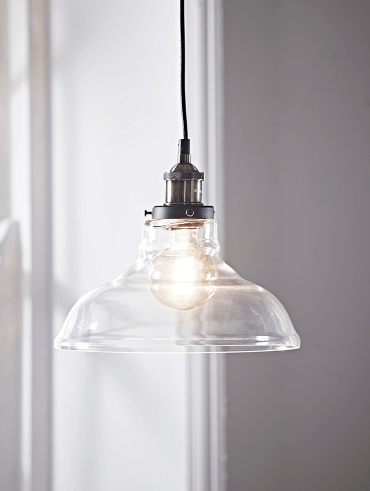 15 Best Ideas Of Glass Pendant Lights Shades Uk