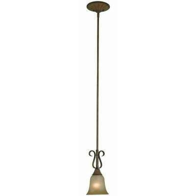 Brown/tan – Hampton Bay – Pendant Lights – Hanging Lights – The With Hampton Bay Mini Pendant Lights (View 11 of 15)