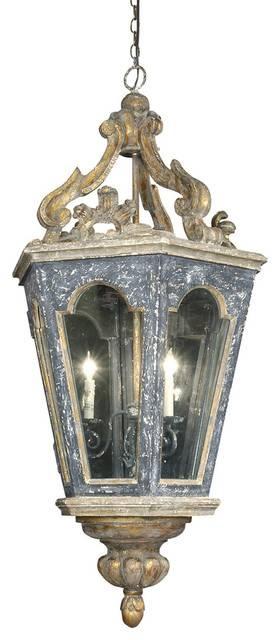 Bruges Lantern Three Way Candelabra – Victorian – Pendant Lighting Inside Victorian Pendant Lighting (View 15 of 15)