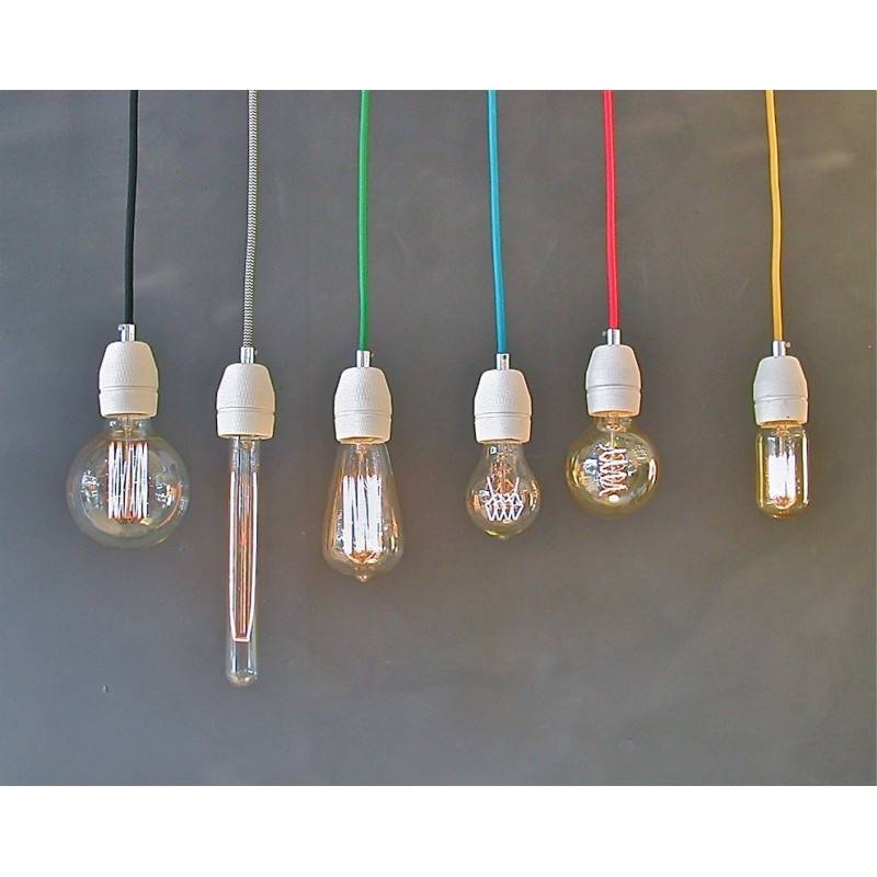 Bulb Pendant – Black Pertaining To Bare Bulb Pendants (#9 of 15)