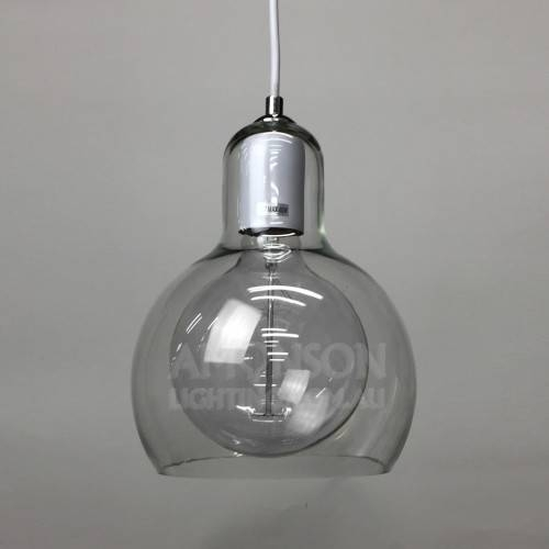 Bulb Pendant Light White Replica Within Mega Bulb Pendant Lights (#2 of 15)