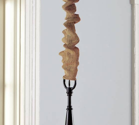 Burlap Cord Cover | Pottery Barn For Cord Cover Pendant Lights (View 6 of 15)