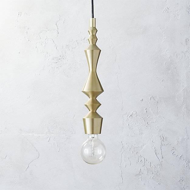 Candlestick Pendant Light | Cb2 Inside Cb2 Pendant Lighting (#2 of 15)