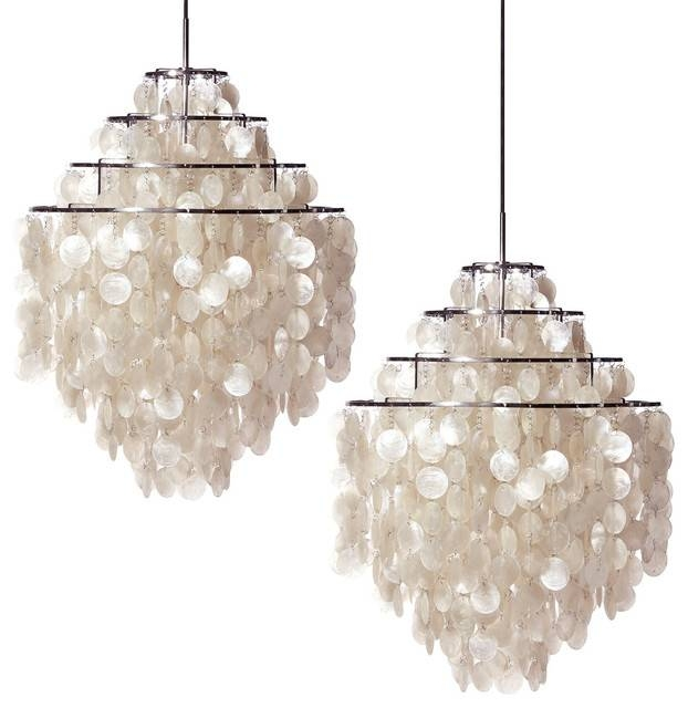 Capiz Shell Pendant – Crystalama With Regard To Shell Lights Shades Pendants (View 5 of 15)