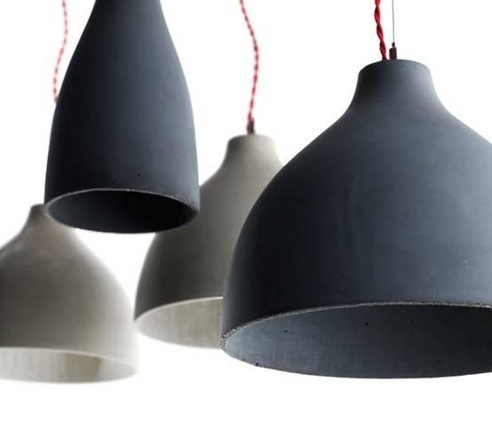 Cast Concrete Pendant Lamps In Diy Concrete Pendant Lights (#3 of 15)