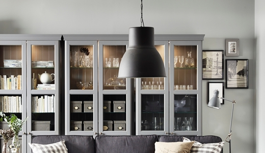 Ceiling Lights – Pendants, Spotlights & More – Ikea Throughout Ikea Drum Lights (View 9 of 15)