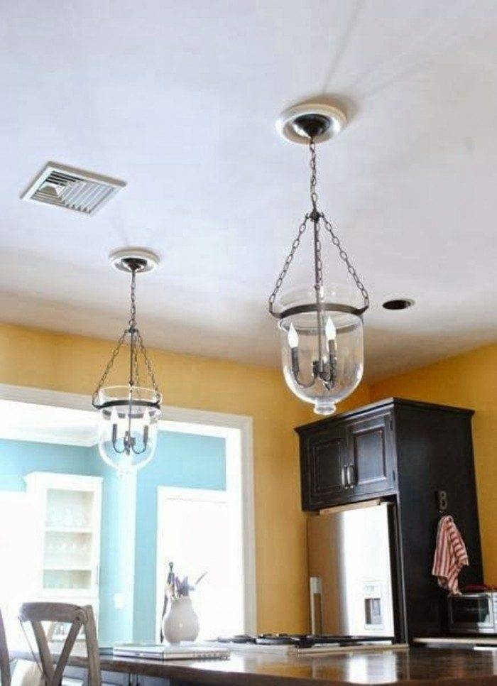 Ceiling Medallions With Pendant Lighting | Wearefound Home Design With Multiple Pendant Lights One Fixture (#7 of 15)