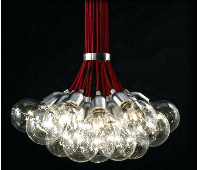 Chandelier ~ Multi Bulb Chandelier Modern Multi Bulb Chandelier 7 With Diy Multi Pendant Lights (#4 of 15)