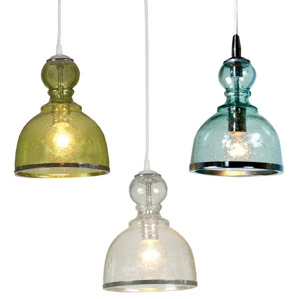 15 Collection Of Colored Glass Pendant Lights