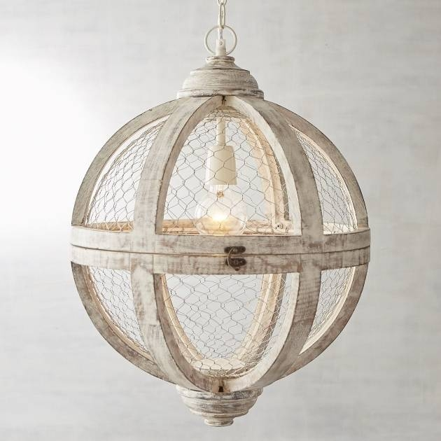 Chicken Wire Pendant Light – Pendant Lighting Ideas Pertaining To Chicken Wire Pendant Lights (#5 of 15)