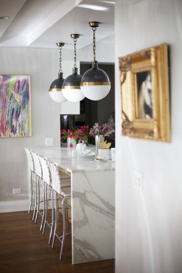 Classic Kitchen Pendant Lighting: The Hicks Pendant | Drivendecor Within Large Hicks Pendants (#7 of 15)