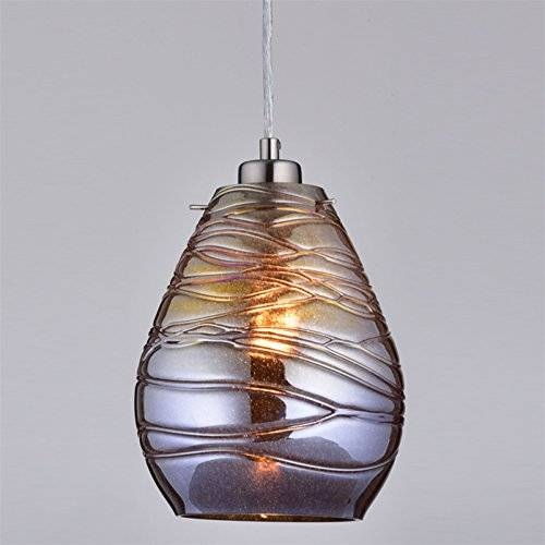 Claxy® Ecopower Kitchen Antique Mercury Glass Pendant Lighting Inside Mercury Glass Pendant Lighting (#4 of 15)