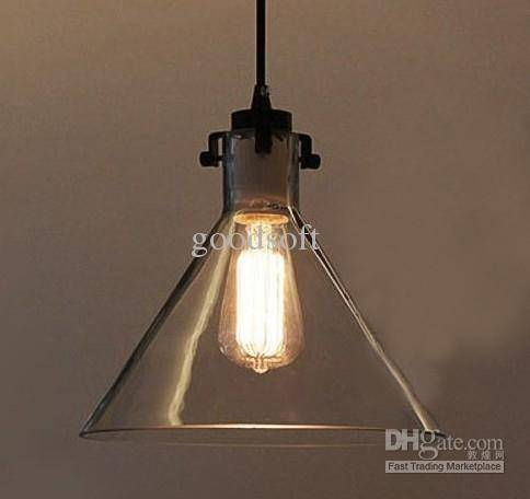 Clear Glass Pendant Light Shades | Roselawnlutheran For Glass Pendant Light Shades (#9 of 15)