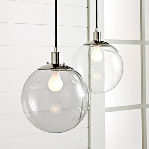 Clear Glass Pendant Light Shades | Roselawnlutheran Regarding Glass Globes For Pendant Lights (#6 of 15)