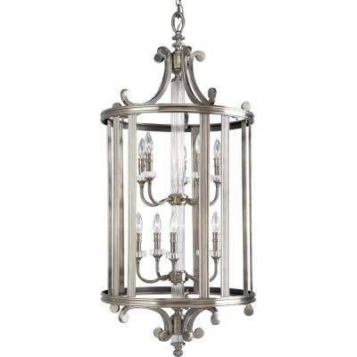 Clearance – Pendant Lights – Hanging Lights – The Home Depot Pertaining To Clearance Pendant Lighting (View 8 of 15)