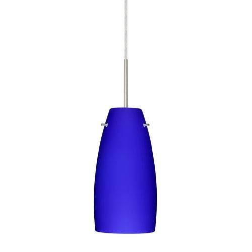 Cobalt Blue Light Fixture | Bellacor Within Blue Pendant Lights Fixtures (#10 of 15)