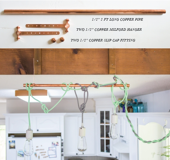 Color Cord Pendant Lights Tutorial   Going Home To Roost Regarding Pendant Lights With Coloured Cord (#8 of 15)