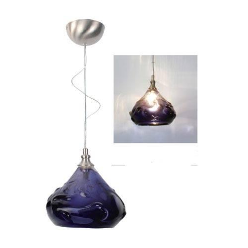 Colorful Blown Glass Mini Pendant | Bellacor With Art Glass Mini Pendants (#5 of 15)