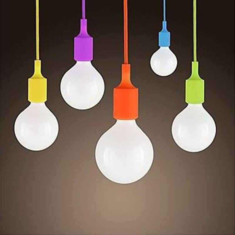 Colorful Pendant Lights – Sl Interior Design In Pendant Lights With Coloured Cord (#9 of 15)