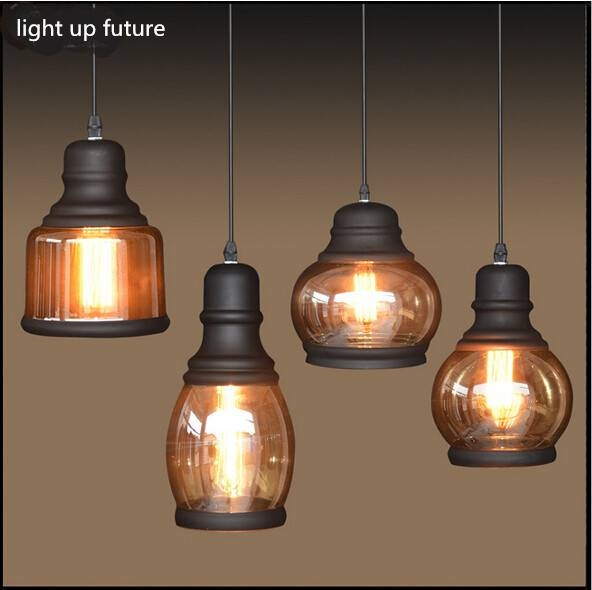 Compare Prices On Amber Led Rope Lights  Online Shopping/buy Low Within Brown Glass Pendant Lights (#7 of 15)