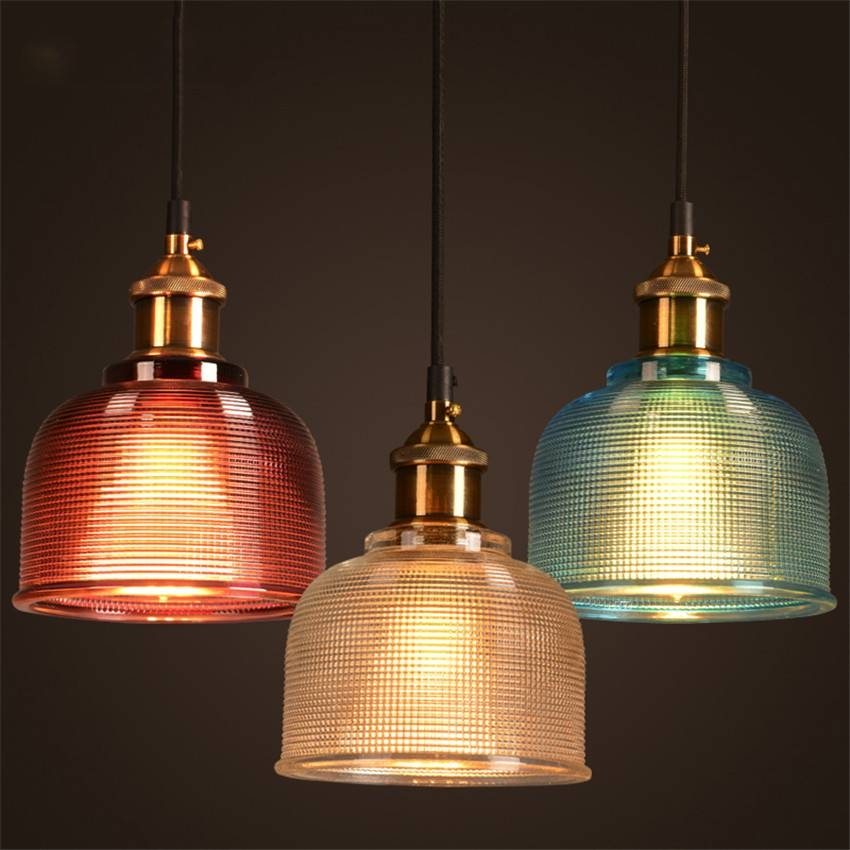 Buy Lighting Online: 15 Best Collection Of Coloured Glass Pendant Lights