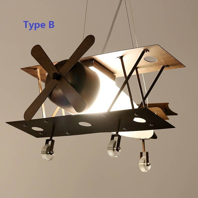 Compare Prices On Lamp Plane  Online Shopping/buy Low Price Lamp Regarding Airplane Pendant Lights (View 5 of 15)