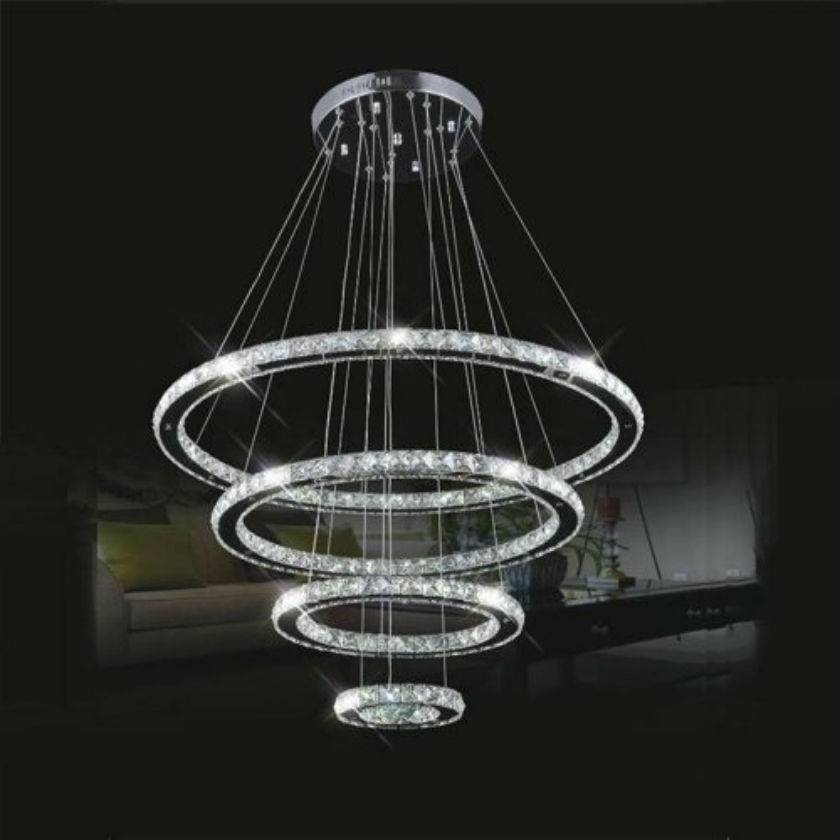 Compare Prices On Modern Led Ring Chandelier Online Shopping/buy Throughout Lights In The Box Lighting (View 11 of 15)