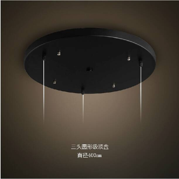 Compare Prices On Round Base Plate Pendant Light Online Shopping Inside Base Plate Pendant Lights (View 10 of 15)