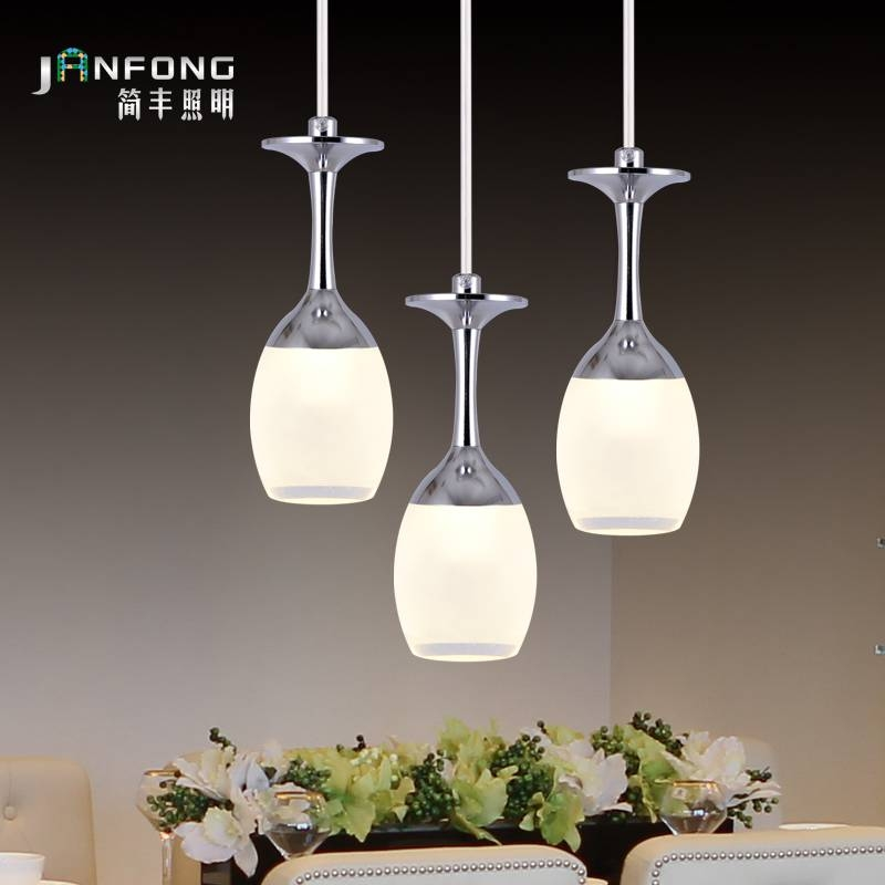Compare Prices On Wine Glass Lighting  Online Shopping/buy Low Intended For Wine Glass Pendant Lights (#6 of 15)