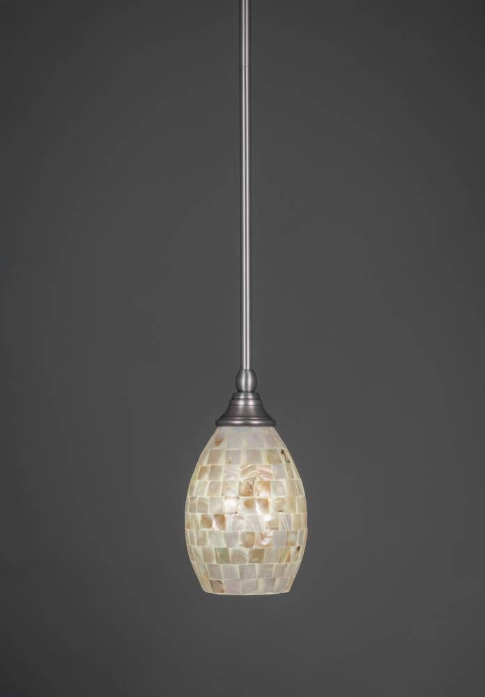 Connecticut Lighting Centers Intended For Brushed Nickel Pendant Lights (View 14 of 15)