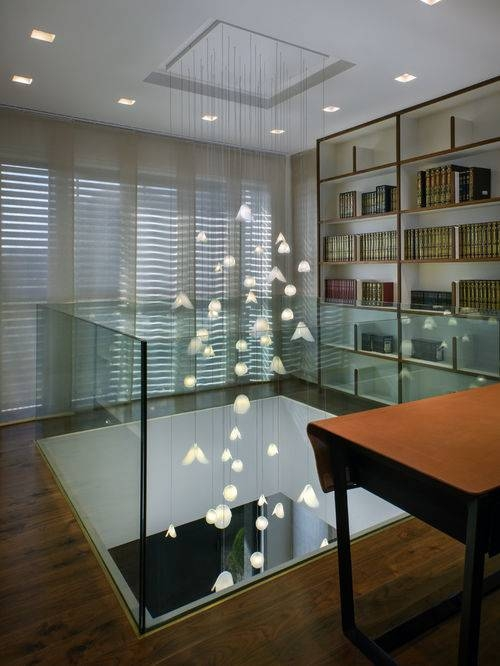 Contemporary Foyer Lighting, Modern Entry Chandelier For High Throughout Extra Long Pendant Lights (#7 of 15)