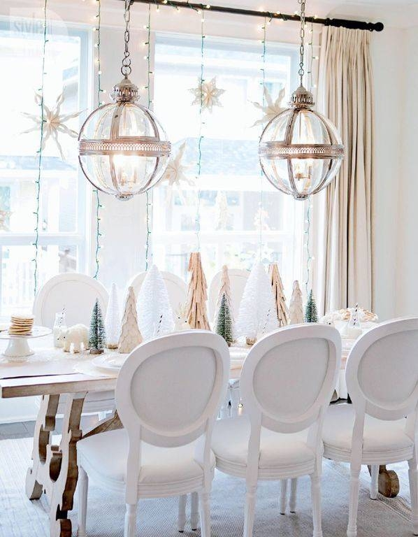 Contemporary Space With Christmas Decor | Zillow Digs | Zillow Regarding Victorian Hotel Pendants (#5 of 15)