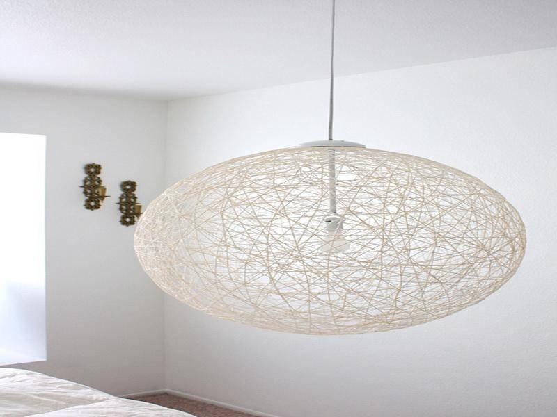 diy yarn pendant light diy yarn pendant light amazing