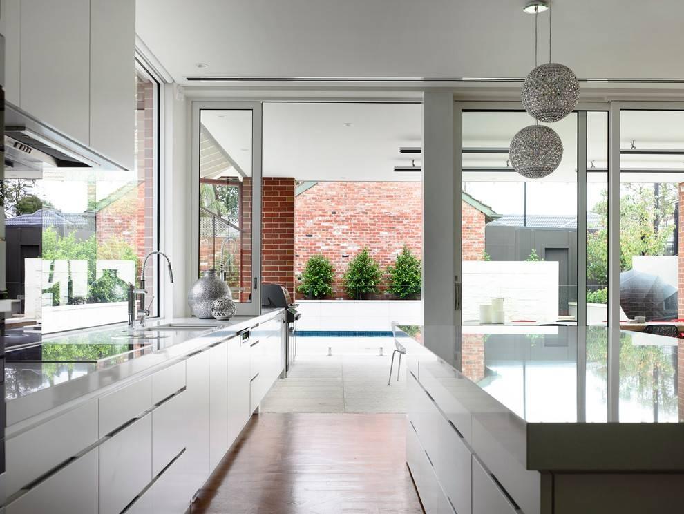 Cool Globe Chandelier Method Melbourne Contemporary Kitchen Inside Melbourne Kitchen Pendant Lights (#11 of 15)