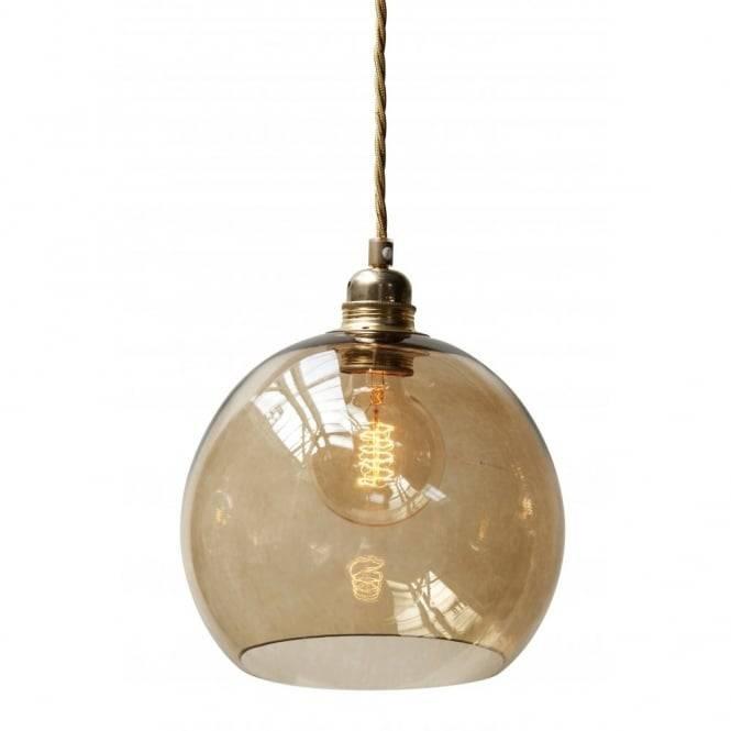 Copenhagen Glass Collection Pendant Lights Regarding Brown Glass Pendant Lights (#8 of 15)
