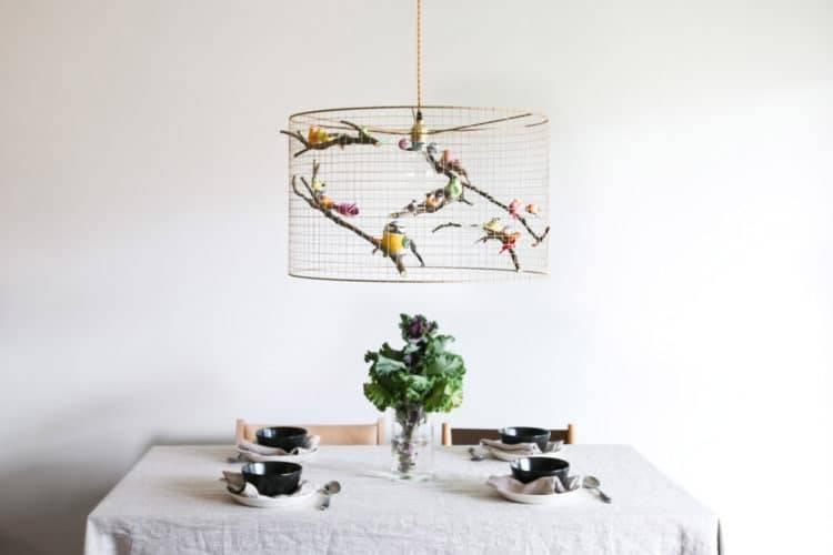 Copper Birdcage Pendant Light Chandelier | Id Lights Pertaining To Birdcage Pendant Lights Chandeliers (#10 of 15)