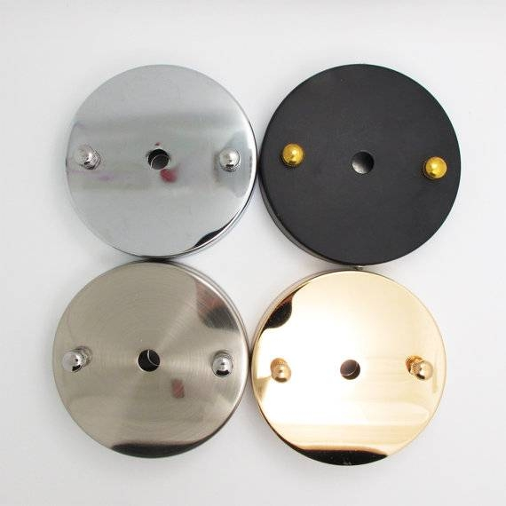 Cord Base Plate For Ceiling Lamp – Diy Lighting – Ceiling Lamp In Pendant Lights Base Plate (View 14 of 15)