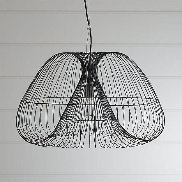 Cosmo Pendant Light | Crate And Barrel For Barrel Pendant Lights (#4 of 15)