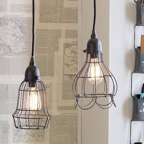 Cosy Wire Pendant Light Wonderful Pendant Remodel Ideas With Wire Inside Corded Pendant Lights (#6 of 15)