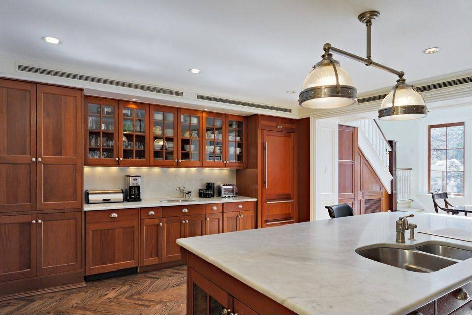 Craftsman Kitchen With Pendant Light & Glass Panel | Zillow Digs With Clemson Pendant Lights (View 6 of 15)