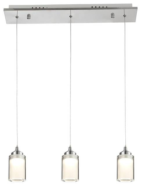 Creative Of 3 Pendant Light Ohr Lighting Led Glass Pendant Light 3 Inside 3 Pendant Light Kits (#9 of 15)