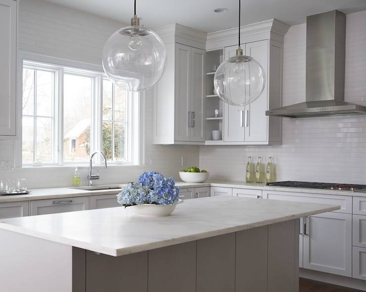 Creative Of Clear Glass Kitchen Pendant Lights Clear Glass Pertaining To Glass Globes For Pendant Lights (#8 of 15)
