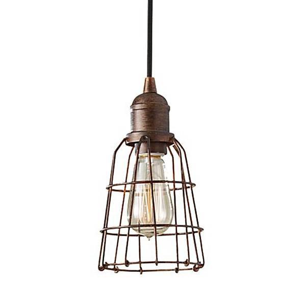 Creative Of Wire Pendant Light Wire Barrel Pendant Light In Corded Pendant Lights (#7 of 15)