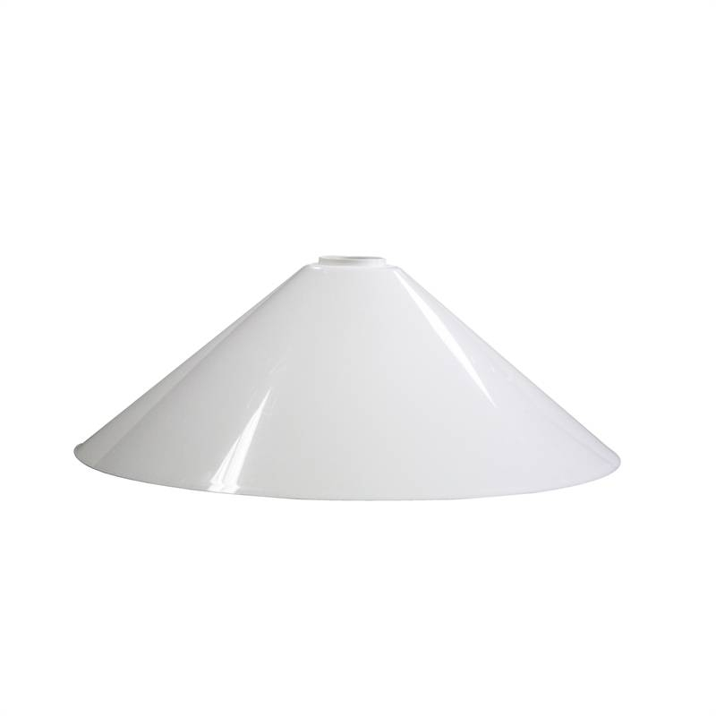 Crompton 26Cm White Traditional Batten Fix Shade | Bunnings Warehouse With Regard To Batten Fix Lights Shades (#6 of 15)