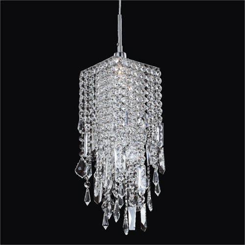 Crystal Mini Pendant Lighting | Bellacor Pertaining To Crystal Pendant Lights (View 3 of 15)