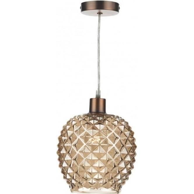 Dar Lighting Mosaic Easy Fit Ceiling Light Pendant Shade With Regarding Easy Fit Pendant Lights (#4 of 15)
