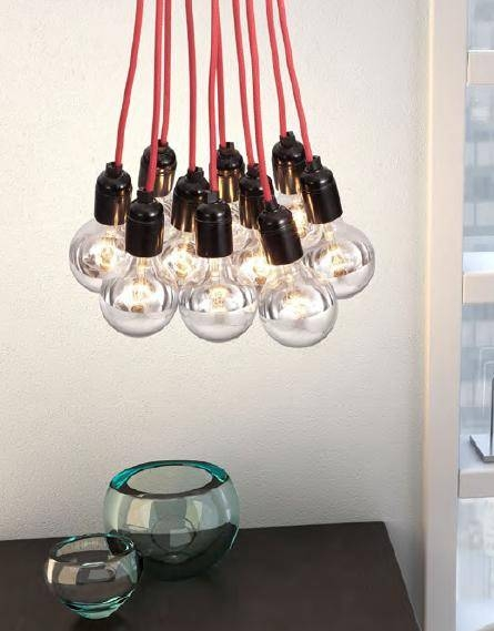 Popular Photo of Bare Bulb Pendant Lighting