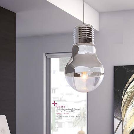 Daring Modern Pendant Lights For A Contemporary Space Regarding Giant Lights Bulb Pendants (#9 of 15)