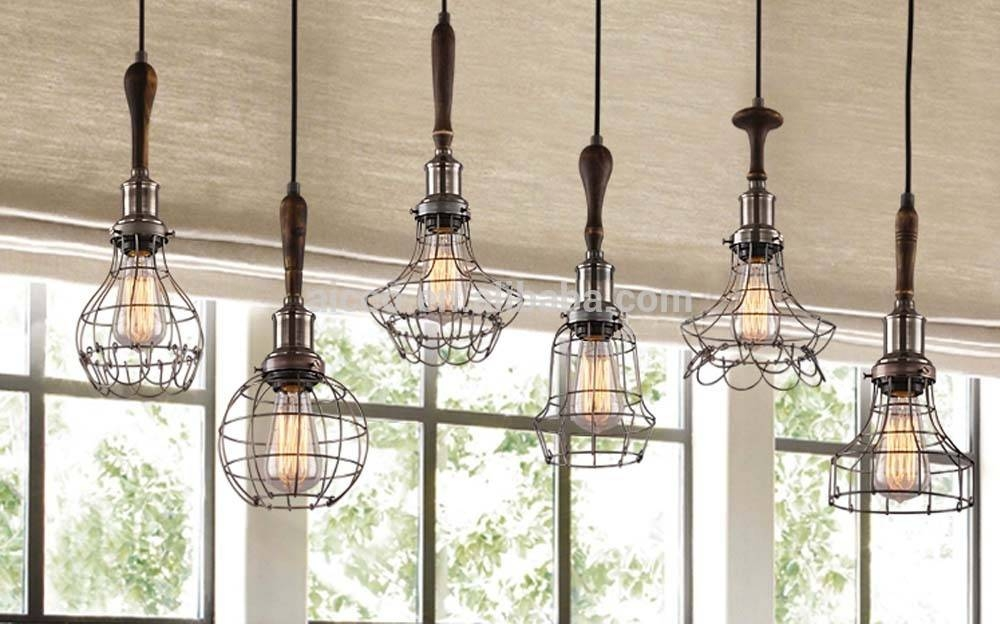 Decorative Pendant Lighting Vintage Industrial Style Lights Edison With Industrial Style Pendant Light Fixtures (#5 of 15)